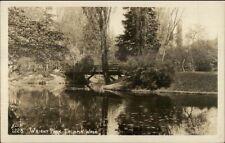 Tacoma WA Wright Park - Ellis Real Photo Postcard