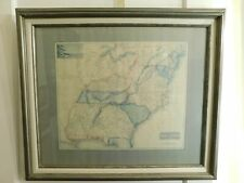Southern Provinces of the United States (print) made from 1799 map
