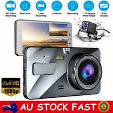 FHD 1080P Dual Lens Car Truck Dash Cam Camera Parking Video Recorder DVR 170°