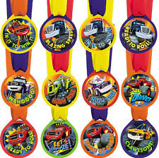 Blaze And The Monster Machines Party Supplies 12 AWARD MEDALS Favour