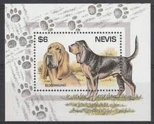 Nevis postfris 1995 MNH blok 90 - Honden / Dogs (hb039)