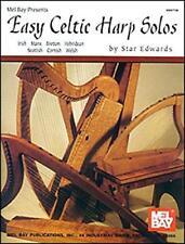Easy Celtic Harp Solos (Mel Bay Presents) by Edwards, Star | Paperback Book | 97