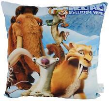 Original Ice Age 5 - Kissen Dekokissen Kuschelkissen Scrat Sid Manni 35 x 35 cm