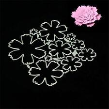 Stereoscopic flowers Metal Cutting Dies Stencils for DIY Scrapbook Album Card SW