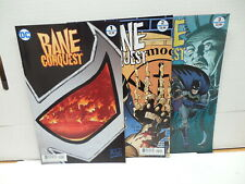 Bane Conquest 1-3 DC Comic Books Dixon Nolan