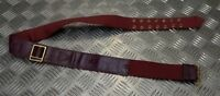 Genuine British Military Issue Ceremonial No6 Infantry Sword Waist Belt Faulty
