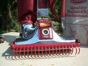 Vintage Kirby Classic111 Vacuum Cleaner W/Hose Attachment Miracle Head Shag Rake