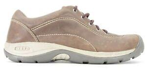 Keen Presidio Heritage Womens Brown Rugged Leather Hiking Shoes US 10.5 EU 41