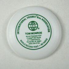 Wham-o Frisbee Mini Tom Monroe Calling Card 4 in IFA  International Disc Assoc