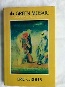 THE GREEN MOSAIC Eric Rolls 1st Ed HBDJ Poetry Papua New Guinea
