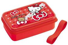 Sanrio Hello Kitty Bear & Ribbon Lunch Bento Box w/ Chopsticks #6416 S-3543