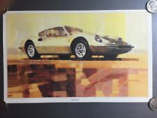 1968 - 1976 Ferrari 206 GT Coupe Print, Picture, Poster, RARE!! Awesome L@@K