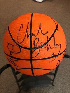 Philadelphia 76ers Hand Signed Promo BasketBall 1991-92