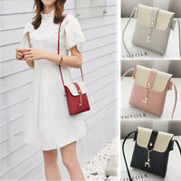 Women Messenger CrossBody Shoulder Handbag Tote Mini Leather Satchel Bag Purse