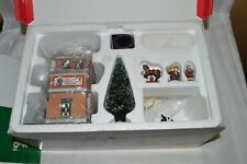 "Department 56 The Heritage Village Collection ""Scottie's Toy Shop Gift Set"""