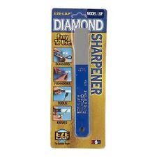 Eze-Lap DIAMOND SUPERFINE BLADE SHARPENING HONE 1200 Grit, Long Lasting-USA Made