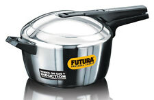 Futura 5.5L Stainless Steel Induction Base Pressure Cooker FSS55  By Hawkins
