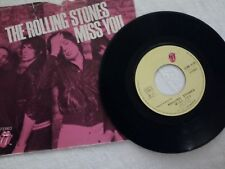 "Rolling stones 45 giri "" MISS YOU """