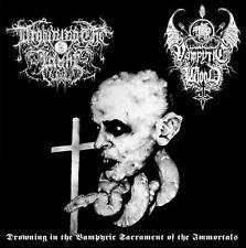 Drowning the light/vampyric Blood-Split CD (eternum, atra)