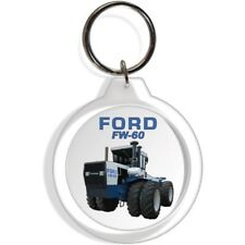 FORD GARDEN FARM INDUSTRIAL TRACTOR KEYCHAIN KEY CHAIN RING FW60 EQUIPMENT PART