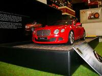 BENTLEY gt speed Cabriolet 2013 Rogé 1/18 Minichamps 107139330 Auto Miniatur