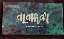New ListingNew Alamar Cosmetics Colorete Blush Trio Medium - Tan Full Size Sealed full size