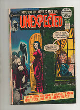 Unexpected #134 - Nick Cardy Horror Cover - (Grade 7.5) 1972