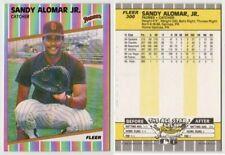 SANDY ALOMAR JR. RC - 1989 FLEER # 300 - SAN DIEGO PADRES CATCHER