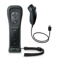 Wii Remote Controller Built in Motion Plus Nunchuck for Wii U Console Gamepad