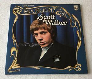SCOTT WALKER~SPOTLIGHT ON SCOTT WALKER~1976 UK VINYL 2LP SET~PHILIPS 6625 017