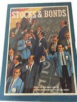 Vintage 1964 Stocks and Bonds Board Game Complete Investment Bookshelf Game Set