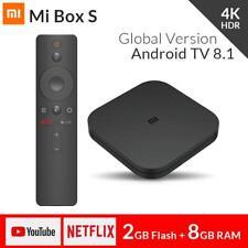 Xiaomi Mi Box S 2G+8GB Global Version Android 8.1 4K TV Box 5G WIFI Voice Search