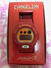 G-Shock Evangelion DW-6900 ASUKA EVA-02 Casio Japan Limited Watch JAPAN
