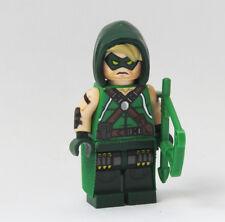 Custom Comic Green Arrow DC Super heroes minifigures superman hawkeye