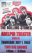 "Rolling Stones Adelphi Dublin 16"" x 12"" Photo Repro Concert Poster"