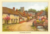 J. Salmon Ltd Art Postcard East Budleigh, South Devon by A.R Quinton AB3