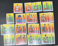 1989 Topps Stickers Lot Of 40 STAR HOF McGwire, Brett, Boggs, Clemens, Bond+MORE