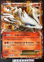Carte Pokemon RESHIRAM BW36 PROMO Ultra Rare EX Noir & Blanc FR