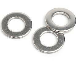 M4 M5 M6 M8 M10 M12 A2 STAINLESS STEEL FLAT WASHERS DIN125