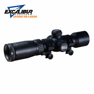 Excalibur Tact-100 Red/Green Illuminated 100 Yard Crossbow Scope - #73370 *NEW*