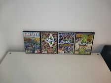 Sims PC Bundle, Sims 3, Ambitions, Town Life Stuff and Sim City