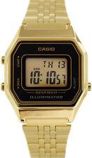 Casio LA-680WGA-1D Ladies Gold Tone Digital Watch Mid-Size Retro Vintage New