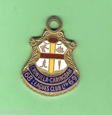 CRONULLA CARINGBAH  RUGBY LEAGUE  CLUB   MEMBER BADGE 1968-69  #1326