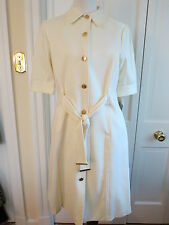 Gorgeous Professional Ellen Tracy Ivory Tailored Dress – NWT – 12