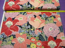 Alexander Henry • Rita Floral • Mara  Navy • Baumwoll Stoff • 0,5m