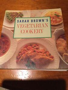 Sarah Browns Vegetarian Cookbook # by Sarah Brown (Paperback, 1989)