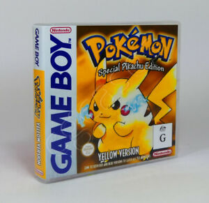 Game Boy GB Game CASE ONLY - Pokemon Yellow (AU)