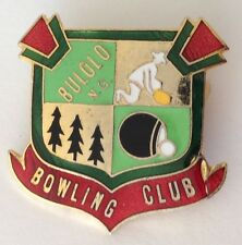 Bulolo Papua New Guinea PNG Bowling Club Badge Pin Rare Vintage (M16)