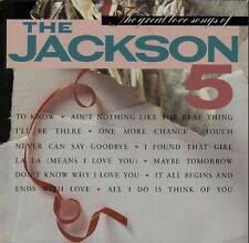 The Great Love Songs Of The Jackson 5 1984 VINYL LP EXCELLENT CONDITION Michael