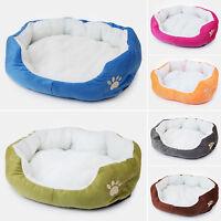Pet Dog Cat Bed Puppy Cushion House Pet Soft Fleece Kennel Doghouse Mat Mattress